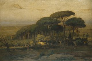 Pine Grove of the Barberini Villa