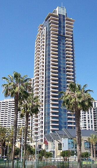 Pinnacle Marina Tower - Image: Pinnacle Museum Tower San Diego Apr 09