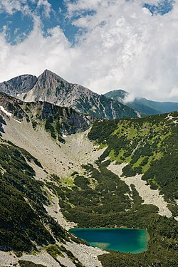 a summit in Pirin