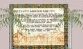 Placa ceramica de la placeta de l'Ajuntament d'Arenys de Mar..tif