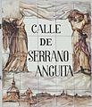 Placa de la calle de Serrano Anguita (cropped).JPG