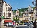 Place du Marche from Rue de l'Hotel de Ville SGO.jpg