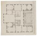Plan över Salsta slott, 1670-tal - Skoklosters slott - 98969.tif