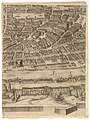 Plan of the City of Rome. Part 9 with Piazza Navona, the Campo di Fiore and the Sant' Onofrio (left bank) MET DP825226.jpg