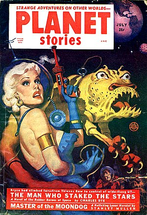 Beyond Lies the Wub - July 1952 issue of Planet Stories