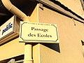 Plaque Passage Écoles St Cyr Menthon 2011-11-23.jpg