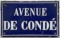 Plaque avenue Condé St Maur Fossés 2.jpg