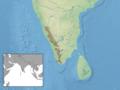 Platacanthomys lasiurus distribution.png