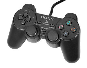 DualShock - Dark gray version of the DualShock controller.