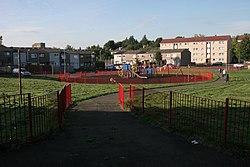 Play park, Corkerhill (geograph 4654092).jpg