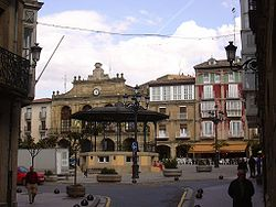 Plaza Mayor d'Haro