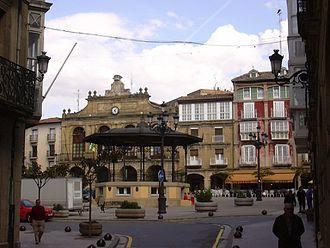 Haro, La Rioja - Image: Plaza Mayor de Haro