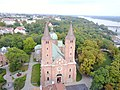 Plock Cathedral aerial photograph 2019 P03.jpg
