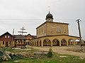Podlaskie - Zabłudów - Zwierki - Zwierki 46 - Monaster - Cerkiew - front;lewo.JPG