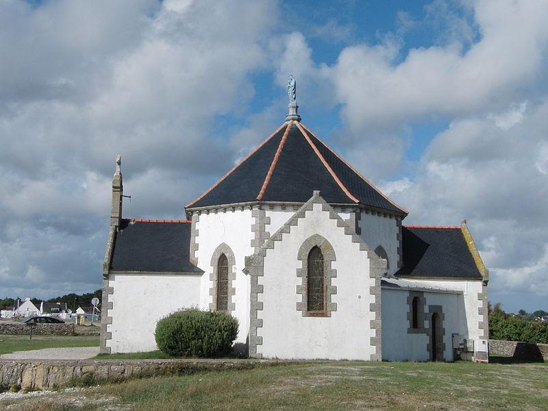 La La chapelle Notre-Dame-de-la-Côte (Penvins). Sarzeau dans le Morbihan Bretagne