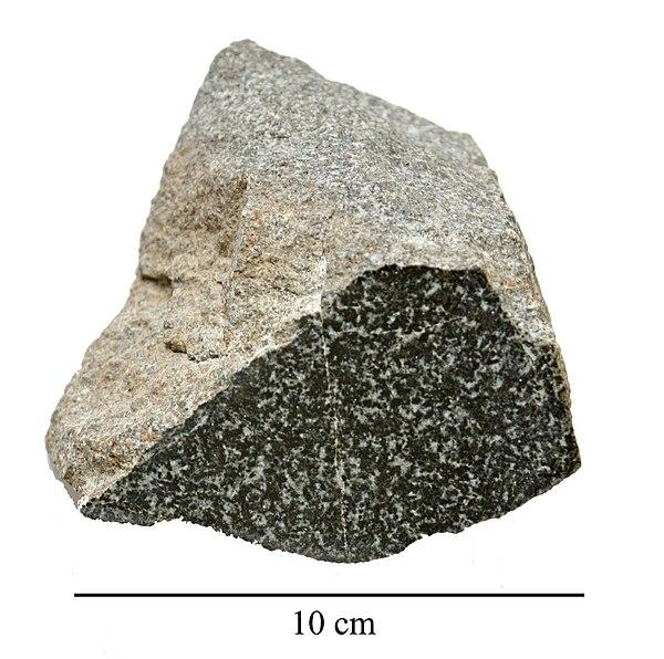 Polished Olivine Basalt Co : Igneous rocks by composition