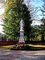 Pomnik Matki Boskiej w Kościele św. Mateusza w Pabianicach.JPG