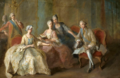 Portrait of the family of the Duke of Penthièvre by Jean-Baptiste Charpentier in circa 1767 held at Sceaux.png