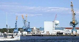 Portsmouth Naval Shipyard - Image: Portsmouth Naval Shipyard