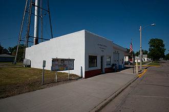Strasburg, North Dakota - U.S. Post office in Strasburg