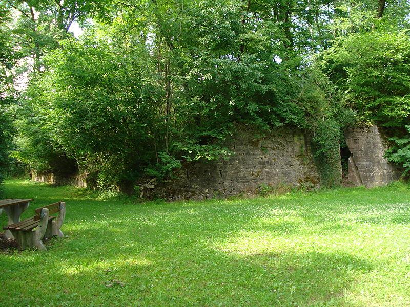 Poste de secours militaire souterrain de la Première Guerre mondiale à Domjevin (construit de fin 1916 à début 1918) classé monument historique