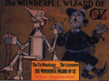 Poster advertising The Wonderful Wizard of Oz by L. Frank Baum and issued by the George M. Hill Company 1900.png