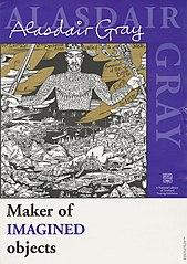 Poster of Alasdair Gray exhibition