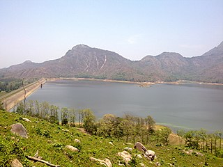 Pothundi Dam dam in Palghat District, Kerala