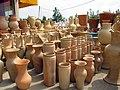 Pottery in Iran - qom فروشگاه سفال در ایران، قم 08.jpg