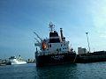 Poupe du navire LA PARTENAISE avec croisiére COSTA MEDITERRANEA.jpg