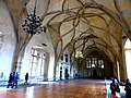 Prag, Hradschin – der gotische Wladislaw-Saal im Königspalast - Pražský hrad - gotický Vladislavský sál v královském paláci - panoramio.jpg