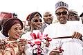 President Muhammadu Buhari commissions Osogbo Government High School.jpg