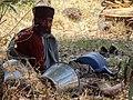 Priest outside Debre Maryam (Church) - Near Bahir Dar - Ethiopia - 01 (8679552045).jpg