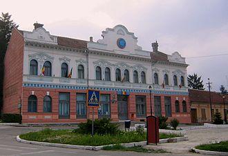 Bocșa - Image: Primaria Bocsa