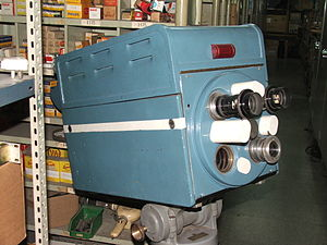 Televisión Pública Argentina - One of the first TV cameras used by Canal 7