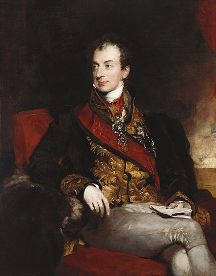 Prince Metternich, Austrian chancellor and foreign minister, as well as an influential leader in the Concert of Europe