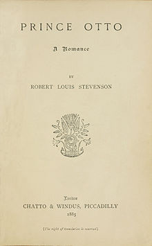 Prince Otto (first edition) (title page).jpg