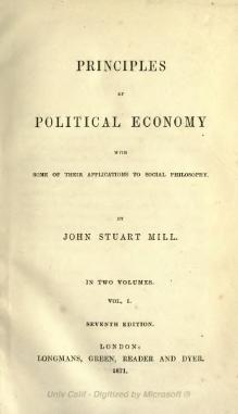 Principles of Political Economy Vol 1.djvu