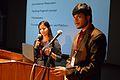 Priyanka Raj and Sambudha Ghosh - Presentation - WikiInitiatives Noble Way to a Smart Outreach - Bengali Wikipedia 10th Anniversary Celebration - Jadavpur University - Kolkata 2015-01-09 2837.JPG