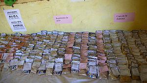 Productos naturales en la farmacia de Dajla - Saharauiak