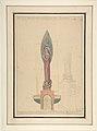 Proposed Statue of St. Michael for St. Patrick's Church, Dumbarton MET DP804283.jpg