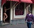 Prostitute in doorway, Amsterdam.jpg