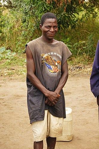 Sena people - A Sena man from Mozambique.