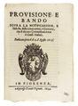 Prouisione e gabella, delle conuenzioni, 1634 - 428.tif