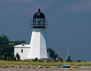 Prudence Island Light lighthouse in Rhode Island, United States