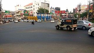 Kottarakkara Municipal Town in Kerala, India