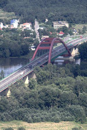 John Paul II Bridge, Puławy - Image: Pulawy John Paul 2 bridge