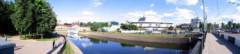 Центр Иванова. Площадь Пушкина
