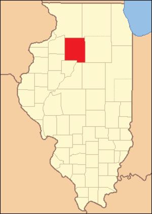 Putnam County, Illinois - Image: Putnam County Illinois 1831