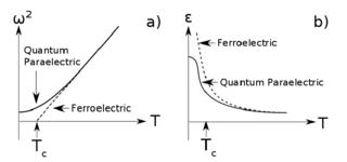 Quantum paraelectricity
